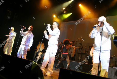 East 17 - John Hendy, Brian Harvey, Terry Coldwell and Tony Mortimer
