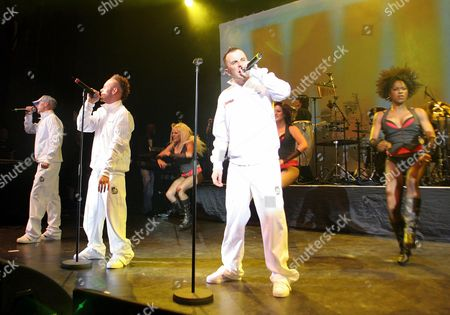 East 17 - John Hendy, Brian Harvey and Terry Coldwell
