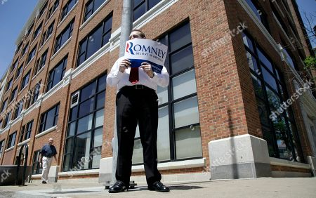 Editorial image of Romney 2012, Des Moines, USA