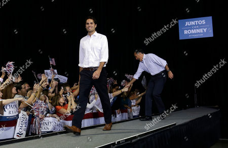 Mitt Romney, Craig Romney Republican presidential candidate and former Massachusetts Gov. Mitt Romney campaigns with his son Craig at a rally at Darwin Fuchs Pavilion in Miami