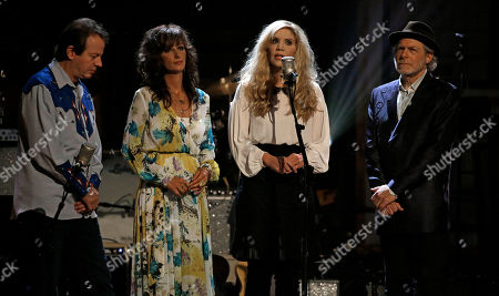 Stock Image of Stuart Duncan, Alison Krauss, Buddy Miller, Melonie Cannon