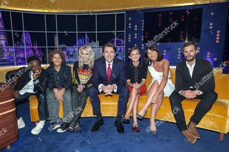 Caleb McLaughlin, Gaten Matarazzo, Zara Larsson, Jonathan Ross, Millie Brown, Davina McCall, Jamie Dornan