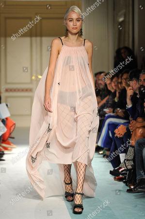Editorial picture of Kristina Ti show, Runway, Spring Summer 2017, Milan Fashion Week, Italy - 21 Sep 2016