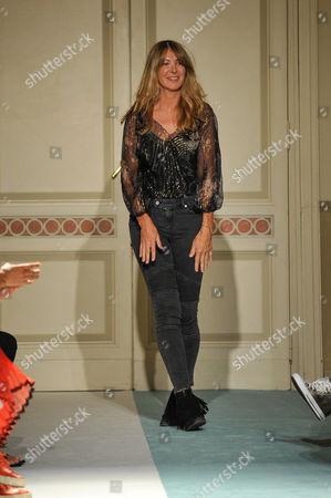 Kristina Ti on the catwalk