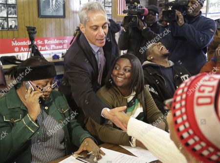 Editorial photo of Chicago Mayor Election, Chicago, USA