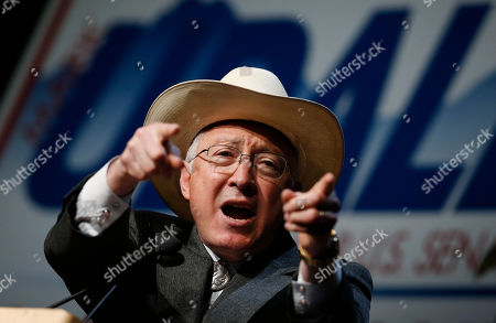 Ken Salazar Former U.S. Interior Department Secretary Ken Salazar urges delegates to drum up support for the re-election bid of U.S. Senator Mark Udall, D-Colo., during the Colorado Democratic Party's State Assembly in Denver on