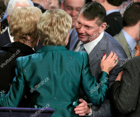 Linda McMahon, Vince McMahon Connecticut Republican U.S. Senate candidate Linda McMahon, left, is embraced by her husband Vince during her election night party in Hartford, Conn. . Richard Blumenthal, Connecticut's longtime Democratic attorney general, won the state's hotly contested U.S. Senate race