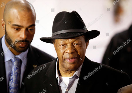 Christopher Barry, Marion Barry Former Mayor and current DC City Council member Marion Barry, right, arrives with his son Christopher Barry, at a media availability to endorse Mayor Vincent Gray's bid for re-election, in Washington
