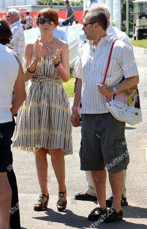 Patsy Palmer and husband Richard Merkell