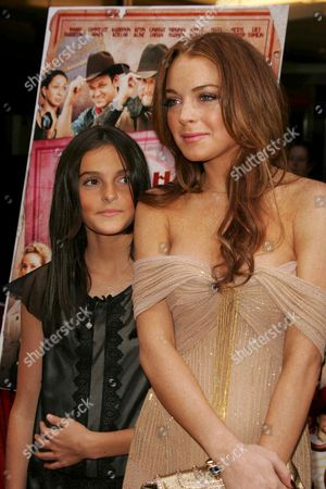 Aliana Lohan and Lindsay Lohan