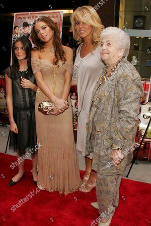 Aliana Lohan, Lindsay Lohan, Dina Lohan and Grandmother