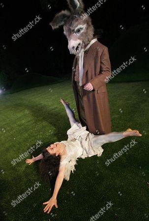 'A Midsummers Night's Dream' - John Hodgkinson ( Bottom ) Sirine Saba ( Titania )