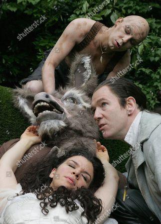 'A Midsummers Night's Dream' - Gerard Carey ( Puck ) John Hodgkinson ( Bottom ) Steven Pacey ( Oberon ) Sirine Saba ( Titania )