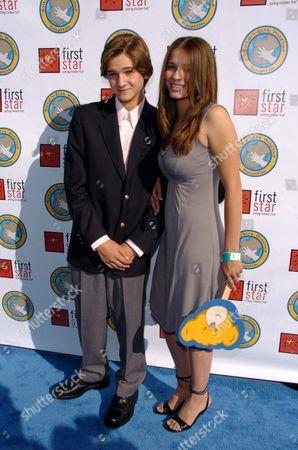 Hunter Gomez and Ashley Gomez