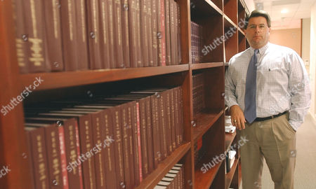 FARMER Attorney Gary Farmer stands in his office in Weston, Fla., . Farmer has gone to court to prevent the destruction of the 6 million ballots from Florida's chaotic 2000 presidential election