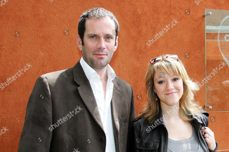 Christian Vadim and girlfriend