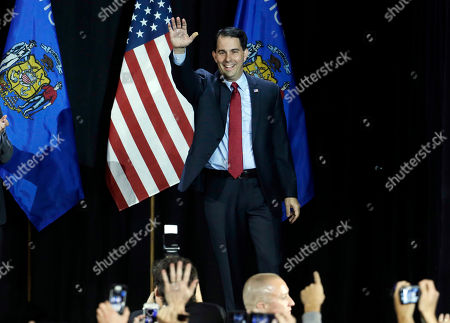 Editorial image of Governor Wisconsin, West Allis, USA