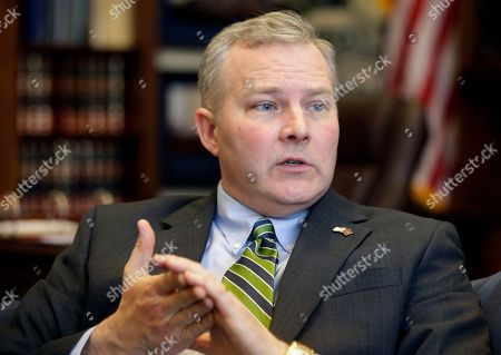 Tim Griffin Arkansas Lt. Gov. Tim Griffin is interviewed in his office at the Arkansas state Capitol in Little Rock. The Republican lieutenant governor announced, he is seeking re-election in two years, becoming the second statewide official to announce his candidacy in the 2018 election