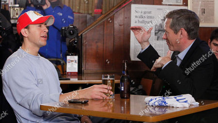 Mark Kirk, Alexi Giannoulias U.S. Senator elect, Republican Mark Kirk, R-Ill., right, and his Democratic opponent Alexi Giannoulias, have a beer at the famed Billy Goat Tavern in Chicago. The pair fulfilled a campaign promise to have a beer together after the election