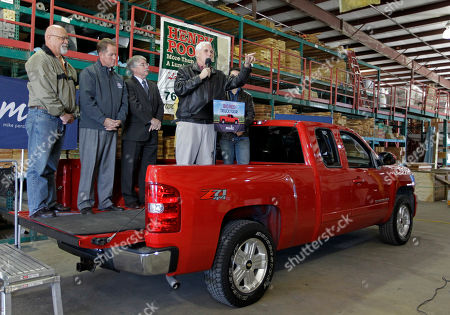 Mike Pence Indiana gubernatorial candidate Republican Mike Pence speaks to supporters from the bed of his red pickup truck during a rally at a lumber yard in Lafayette, Ind., . Pence faces Democrat John Gregg and Libertarian Rupert Boneham in the Nov. 6 general election