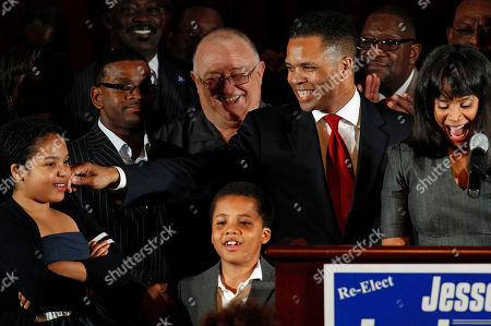 Jesse Jackson Jr., Sandi Jackson, Jessica Jackson, Jesse Jackson III U.S. Rep. Jesse Jackson Jr., D-Ill., his wife Chicago Alderman Sandi Jackson, and their children Jessica, 12, and Jesse III, 8, thank supporters after his primary election win over challenger, former Rep. Debbie Halvorson in Illinois' 2nd District. When Jackson disappeared on a mysterious medical leave in June 2012, it took weeks for anyone in Washington to notice. Jackson has never lived up to the high expectations on the national stage. But none of that seems to matter in his district, where he's brought home close to $1 billion in earmarks and other funding and won every election since 1995 in a landslide, despite nagging ethical questions over links to imprisoned former Gov. Rod Blagojevich. The dual roles could help explain why the Democrat has given so few details of his medical leave
