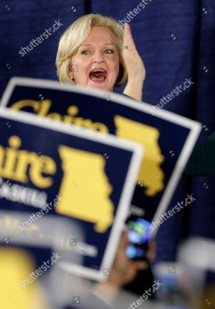 Claire McCaskill Sen. Claire McCaskill, D-Mo., celebrates as she walks on stage to declare victory over challenger Rep. Todd Akin, R-Mo., in the Missouri Senate race, in St. Louis