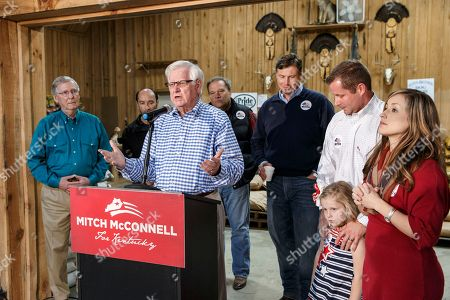 Editorial picture of McConnell Kentucky Senate, Hyden, USA