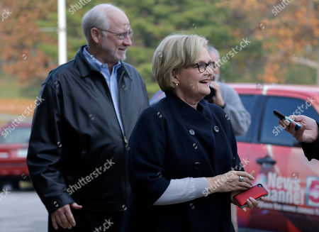 Claire McCaskill, Joseph Shepard Sen Claire McCaskill, D-Mo., walks into Kirkwood Community Center with her husband Joseph Shepard, left, in Kirkwood, Mo. McCaskill is running for reelection against Republican challenger Rep. Todd Akin, R-Mo