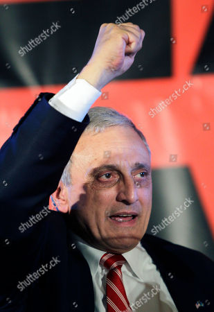 Carl Paladino Republican gubernatorial candidate Carl Paladino concedes the election in Buffalo, N.Y