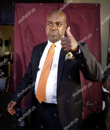 Ras Baraka Newark mayoral candidate Ras Baraka gives a thumbs-up after casting his vote, in Newark, N.J. The election will decide whether Shavar Jeffries, a former state assistant attorney general, or Baraka, a city councilman, will take over the seat Cory Booker occupied from 2006 until October 2013, when he won a special election to succeed U.S. Sen. Frank Lautenberg, who died in office