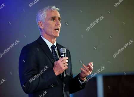 John Cahill Republican candidate for New York State Attorney General John Cahill speaks during the annual meeting of the Business Council of New York State at the Sagamore Resort, in Bolton Landing, N.Y