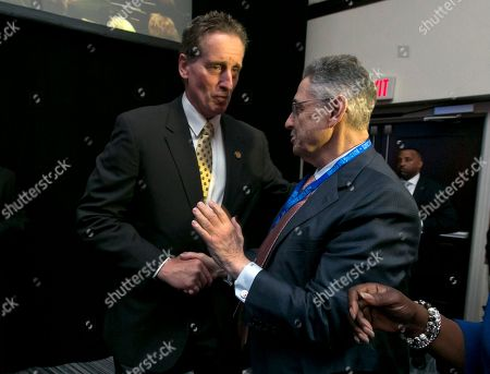 Robert Duffy. Sheldon Silver Outgoing New York state Lt. Gov. Robert Duffy, left, is greeted by state Assembly Speaker Sheldon Silver after Duffy's address to the opening session of the state's Democratic Convention, in Melville, N.Y., . Duffy is not seeking another term
