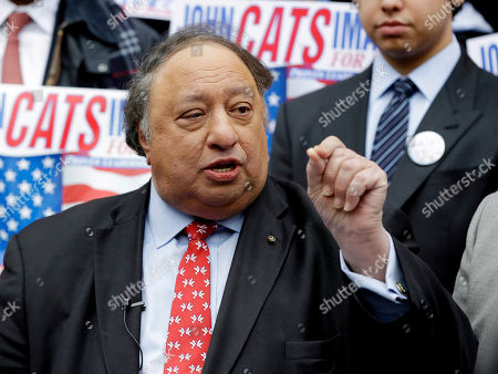 John Catsimatidis John Catsimatidis speaks to the media during a news conference on the steps of New York City Hall as he announces his candidacy for the New York City Mayor's office. Despite the fact that the Republicans have won the past five mayoral elections, the GOP contenders are serious underdogs in this year's race for mayor