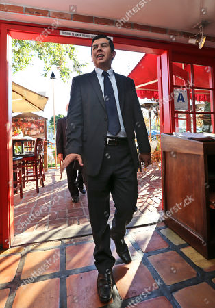 David Alvarez San Diego City Councilman David Alvarez, a candidate for mayor following the resignation of Bob Filner, enters a La Jolla restaurant for a campaign event, in San Diego. Alvarez, from the low-income Barrio Logan area of the city, is among the top contenders hoping to win a spot Nov. 19 in the runoff of the top two finishers