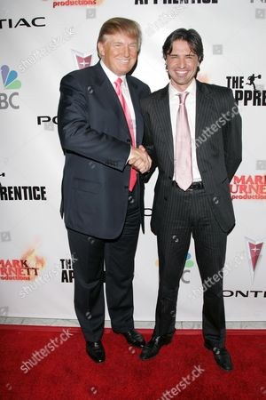 Donald Trump and Apprentice winner Sean Yazbeck