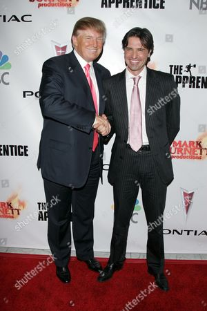 Donald Trump and 'Apprentice' winner Sean Yazbeck