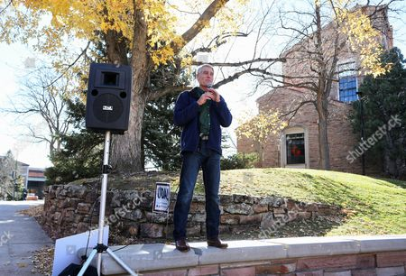 Mark Udall Sen. Mark Udall, D-Colo. speaks to students during a visit to the University of Colorado, in Boulder, Colo., on Election Day