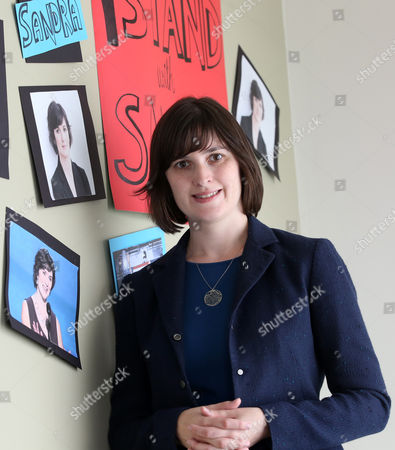 Sandra Fluke Sandra Fluke poses for a photograph at her campaign office in Los Angeles. The former Georgetown University law student, who gained national attention after being denied the chance to testify before Congress about health plan contraception coverage, is running for the 26th state Senate District seat in the November election. Fluke, a Democrat is opposed by fellow Democrat, Ben Allen a member of the Santa Monica-Malibu Board of Education