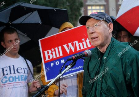 Bill White Texas Democratic gubernatorial candidate Bill White speaks to members of the media at a polling place on election day in Houston