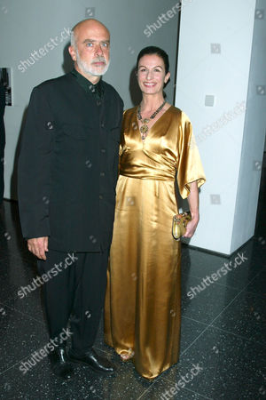 Francesco Clemente and wife Alba Clemente