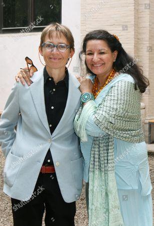 Susanna Tamaro and Sandra Cisneros