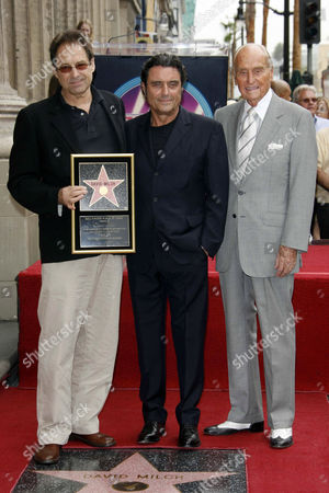 Editorial image of DAVID MILCH RECEIVING STAR ON THE HOLLYWOOD WALK OF FAME, LOS ANGELES, AMERICA - 08 JUN 2006