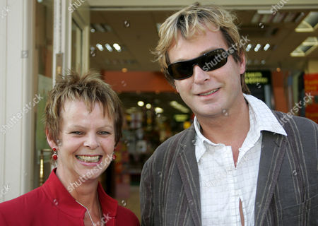 MP Anne Milton and Julian Clary. Milton was invited to the promotion as she has been told by her constituency that she is a doppleganger for him and has been featured with him in the local press.