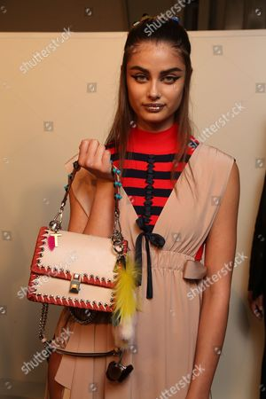 Taylor Hill backstage