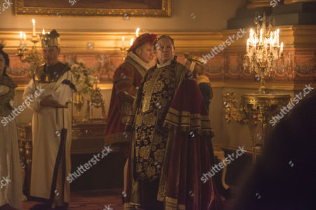 Stock Image of Peter Firth as Duke of Cumberland