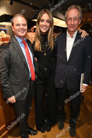 Lord Harry Dalmeny, Daisy Knatchbull and Tony Bromovosky