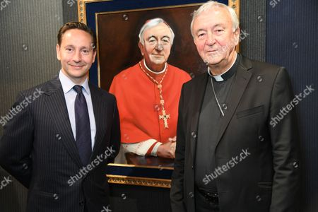 Alexander Talbot Rice and His Eminence Archbishop of Westminster