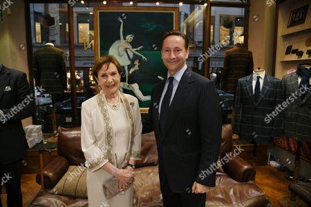 Alexander Talbot Rice and Sylvia Talbot Rice