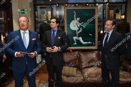 Alexander Yakovenko, Philippe Brenninkmeijer and Alexander Talbot Rice