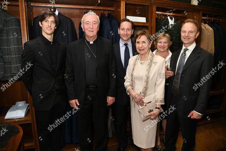 Xander Parish, His Eminence Archbishop of Westminster, Alexander Talbot Rice, Sylvia Talbot Rice, Robert Talbot Rice